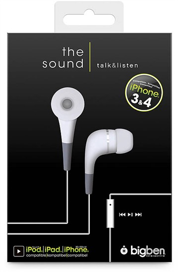 iPhone Stereo Headset white