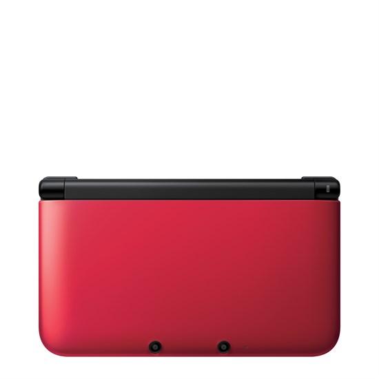 3DS XL Konsole rot + schwarz