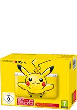 3DS XL Konsole gelb (limited Pikachu Edition)