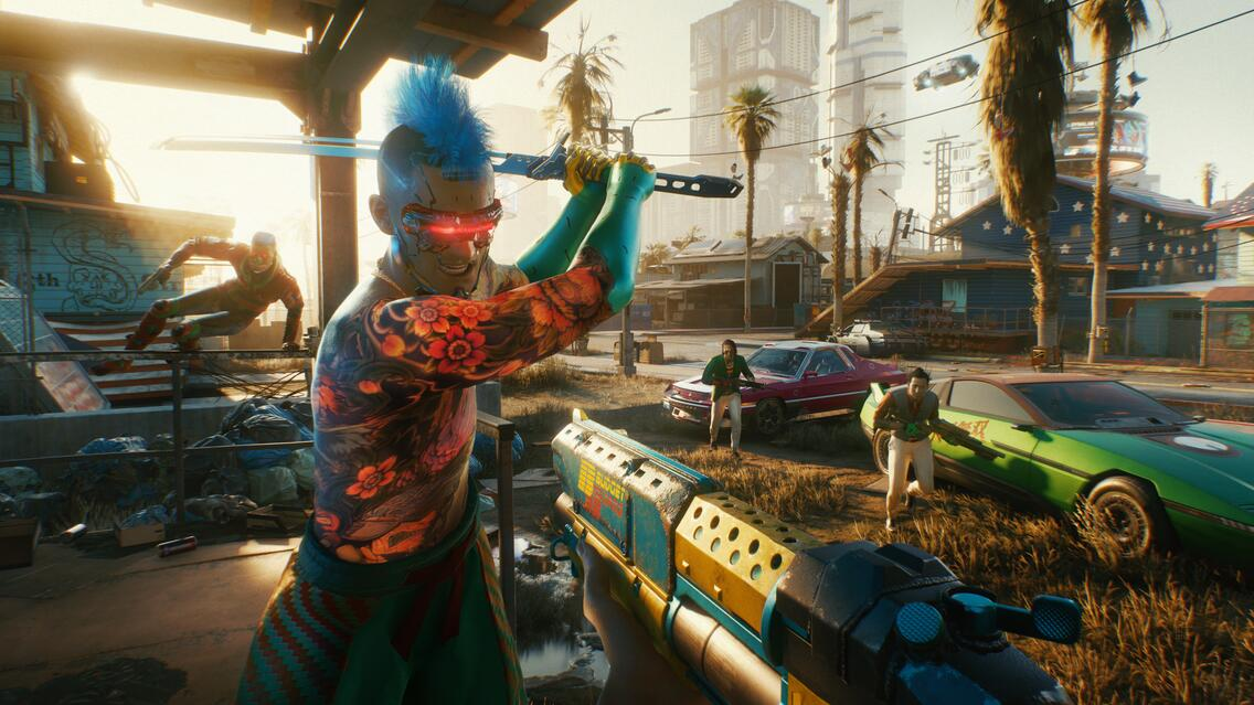 Cyberpunk 2077 Screenshot