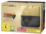 3DS XL Konsole gold-schwarz incl. Zelda Link between Worlds