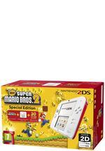 2DS Konsole weiss + Mario Bros 2