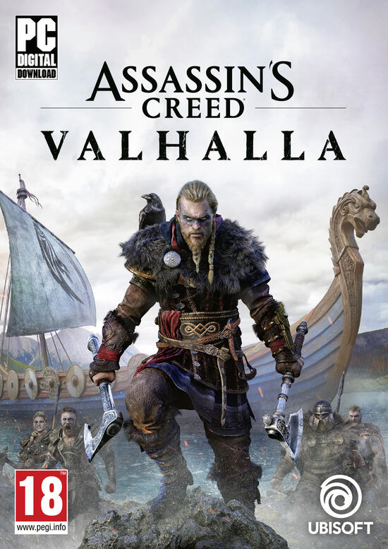 Assassin's Creed Valhalla (Code in a Box)