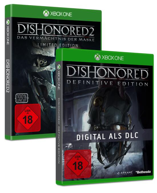 Dishonored 2 Limited Edition inkl. Dishonored 1