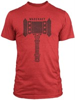Warcraft: The Beginning - T-Shirt Doom Hammer (Größe L)