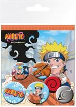 Naruto - Ansteck-Buttons Uzumaki (6er Pack)