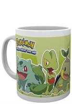 Pokemon - Tasse Grass Partners