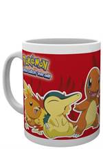 Pokemon - Tasse Fire Partners