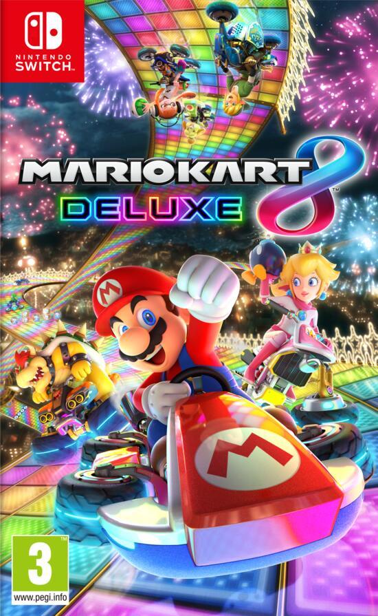 Mariokart 8 Deluxe Cover