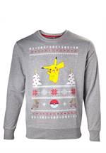 Pokemon - Sweatshirt Pikachu Christmas (Größe S)