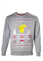 Pokemon - Sweatshirt Pikachu Christmas (Größe XL)