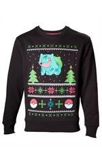 Pokemon - Sweatshirt Bisasam Christmas (Größe L)