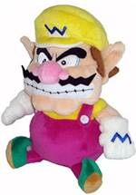 Super Mario - Plüschfigur Wario