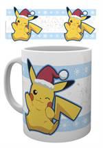 Pokémon - Tasse Pikachu Santa