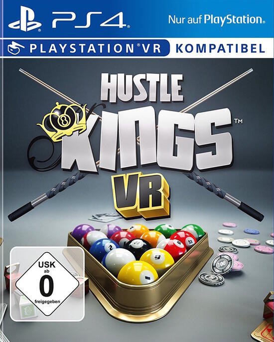 playstation vr hustle kings. Black Bedroom Furniture Sets. Home Design Ideas