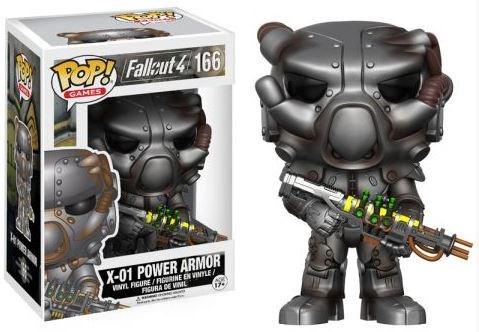 Fallout 4 - POP! Vinyl Figur X-01 Power Armor