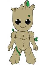 Guardians of the Galaxy 2 - Plüschfigur Kid Groot