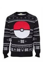 Pokémon - Sweater Pokeball XMAS (Größe L)
