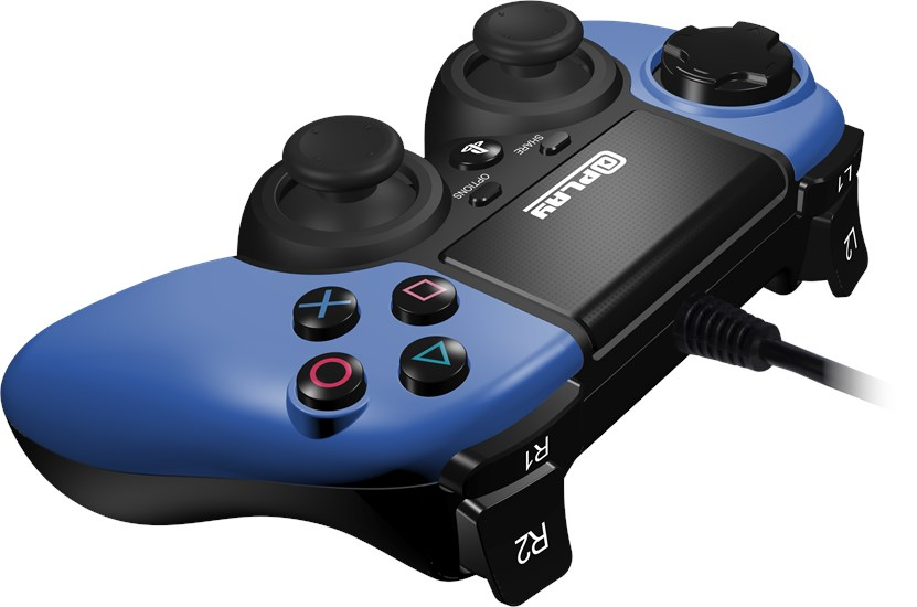 @Play PS4 Controller (kabelgebunden) blau