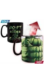 Marvel Comics - Thermo-Effekt-Tasse Hulk