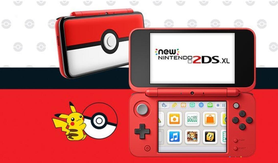 New Nintendo 2DS XL Konsole (Pokeball Edition)