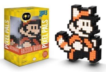 Pixel Pals - Mario Racoon