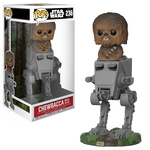 Star Wars - POP! Vinyl-Figur Chewbacca AT-ST