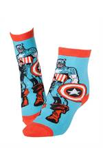 Marvel Captain America - Socken (Größe 39-42)