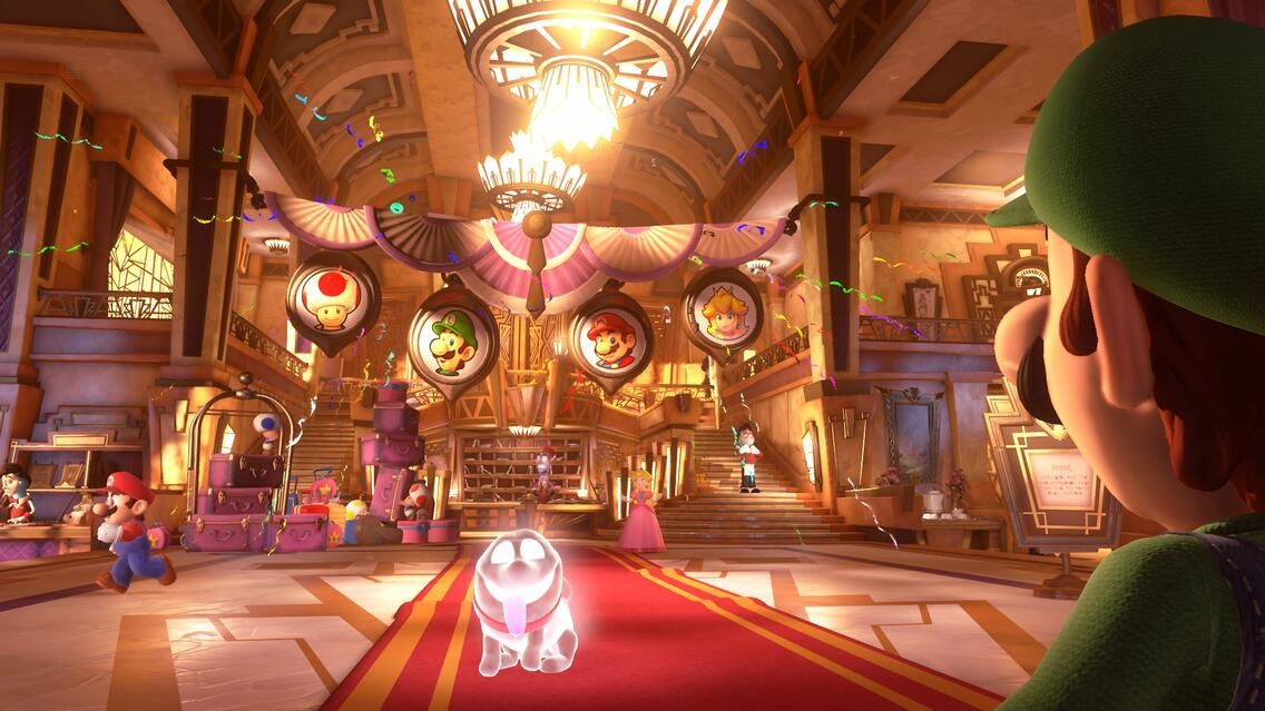 Luigis Mansion 3 Screenshot
