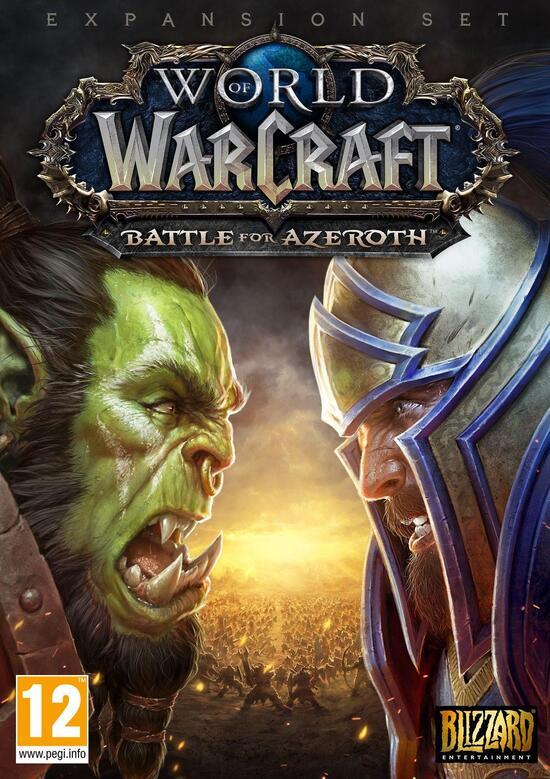 World Of Warcraft Battle For Azeroth Standard Version Physisch