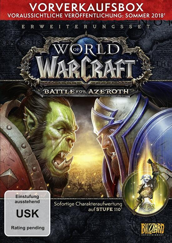 World of Warcraft - Battle for Azeroth PreOrder Box (Code in a Box)