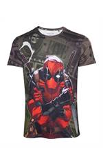 Deadpool - T-Shirt Dollar Scheine
