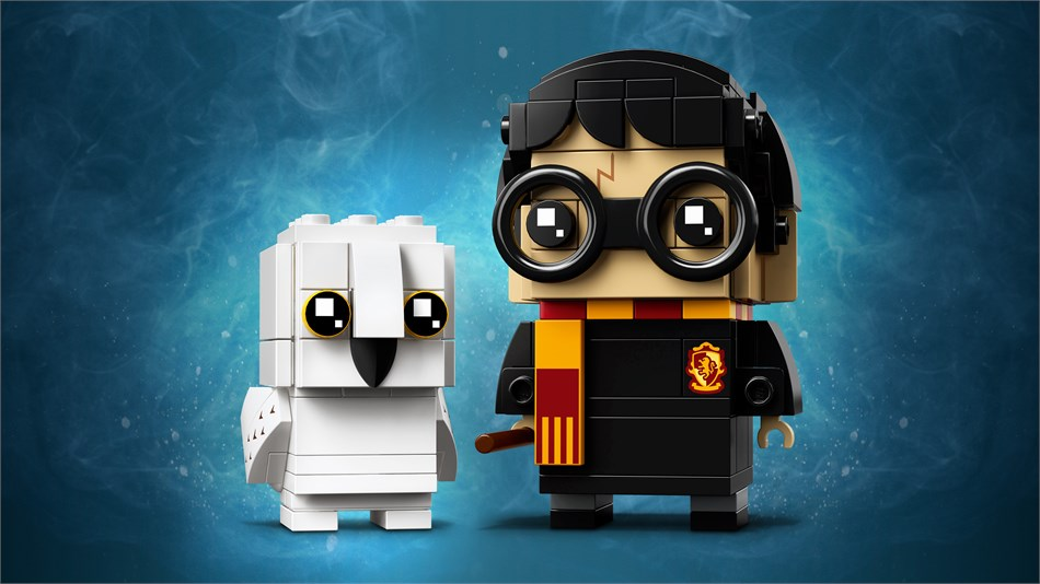 LEGO® BrickHeadz Harry Potter und Hedwig - 41615