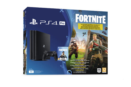 Playstation 4 Pro 1tb Konsole Fortnite Royal Bomber Pack Gamestop Ch