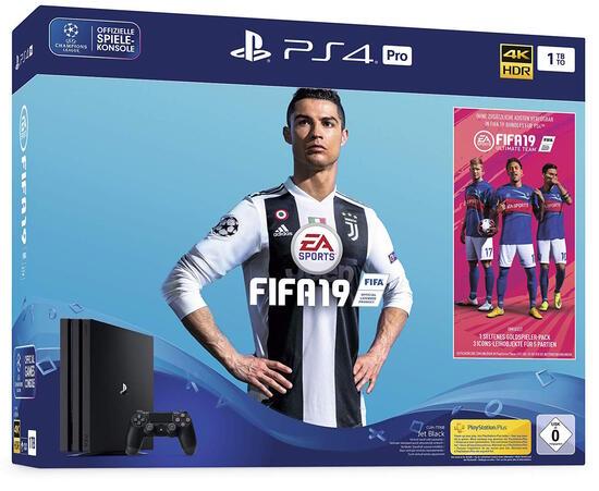 PlayStation 4 Pro 1TB Konsole inkl. Fifa 19