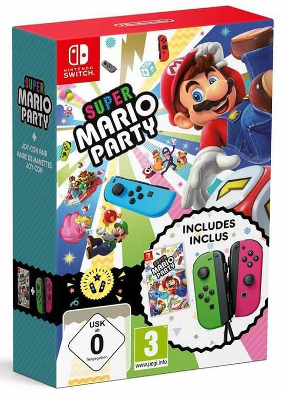 Super Mario Party inkl. 2 Joy-Con