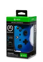 Xbox One PowerA Enhanced Wired Controller Sapphire Fade