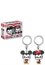 Mickey Mouse - Pocket POP! Schlüsselanhänger Mickey & Minnie