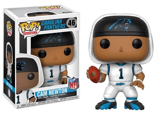 NFL - POP! Vinyl-Figur Cam Newton