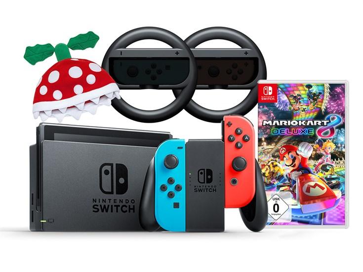 Nintendo Switch Mario Kart Racing Bundle (GameStop exklusiv!)