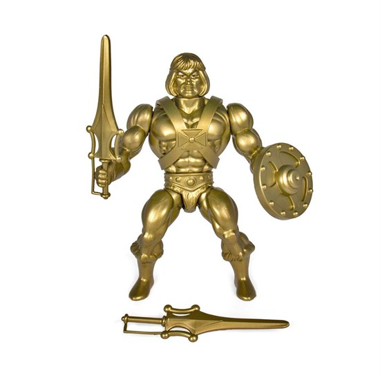 Masters of the Universe - Actionfigur Gold He-Man