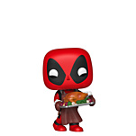 Marvel - POP!- Vinyl Figur Feiertags Deadpool