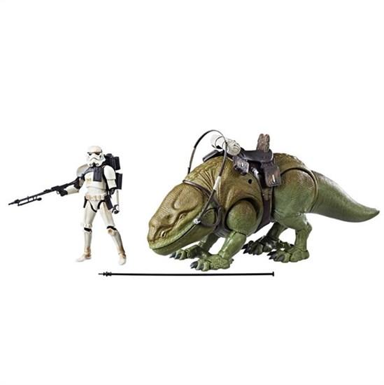 Star Wars - Actionfigur Dewback mit Sandtrooper