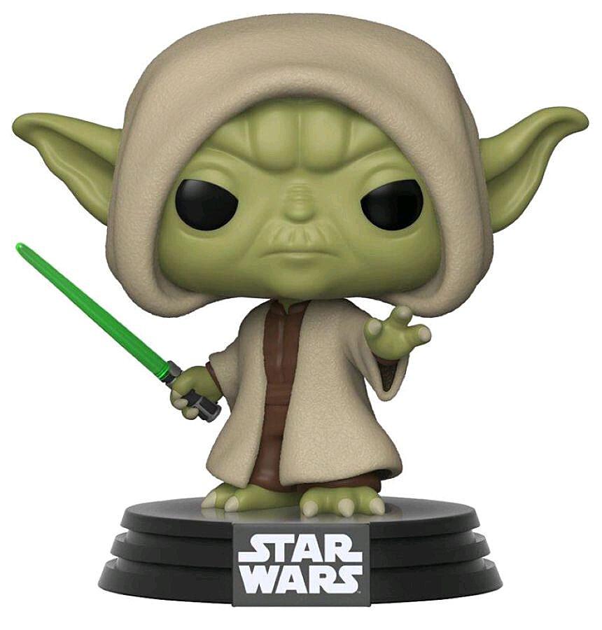 Star Wars - POP!-Vinyl Figur Yoda (Funko Club exklusiv!)