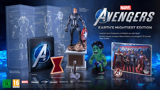 Marvel's Avengers Earth's Mightiest Edition (kostenloses Upgrade auf Xbox One Series X)