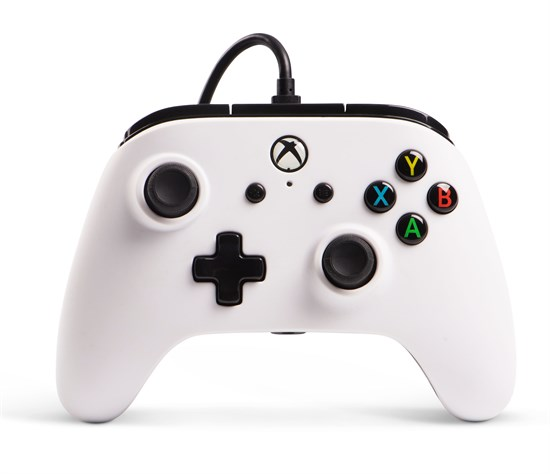 Xbox One PowerA Enhanced Wired Controller weiß