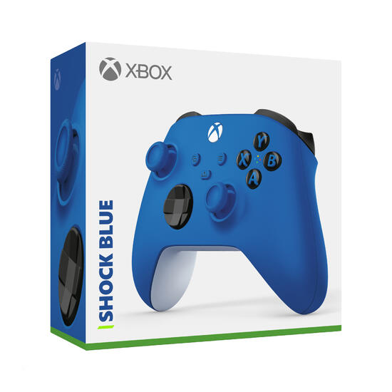 Xbox Wireless Controller Shock Blue (kompatibel mit Xbox Series X/S)