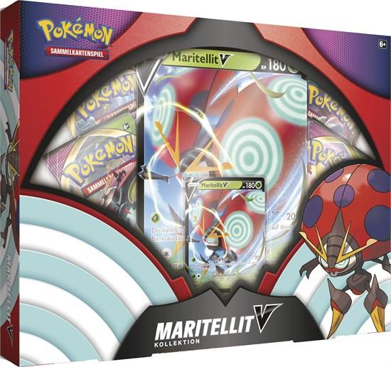Pokémon Sammelkartenspiel: Maritellit November V Box Kollektion